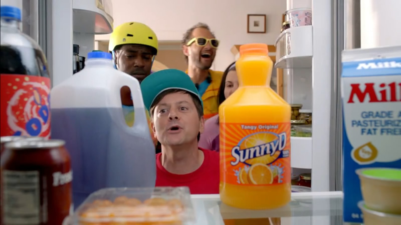 Sunny D Commercial